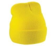 Pop Yellow Gest rmutsen (uni Erwachsenengröße, elastisch, 100% Acryl)