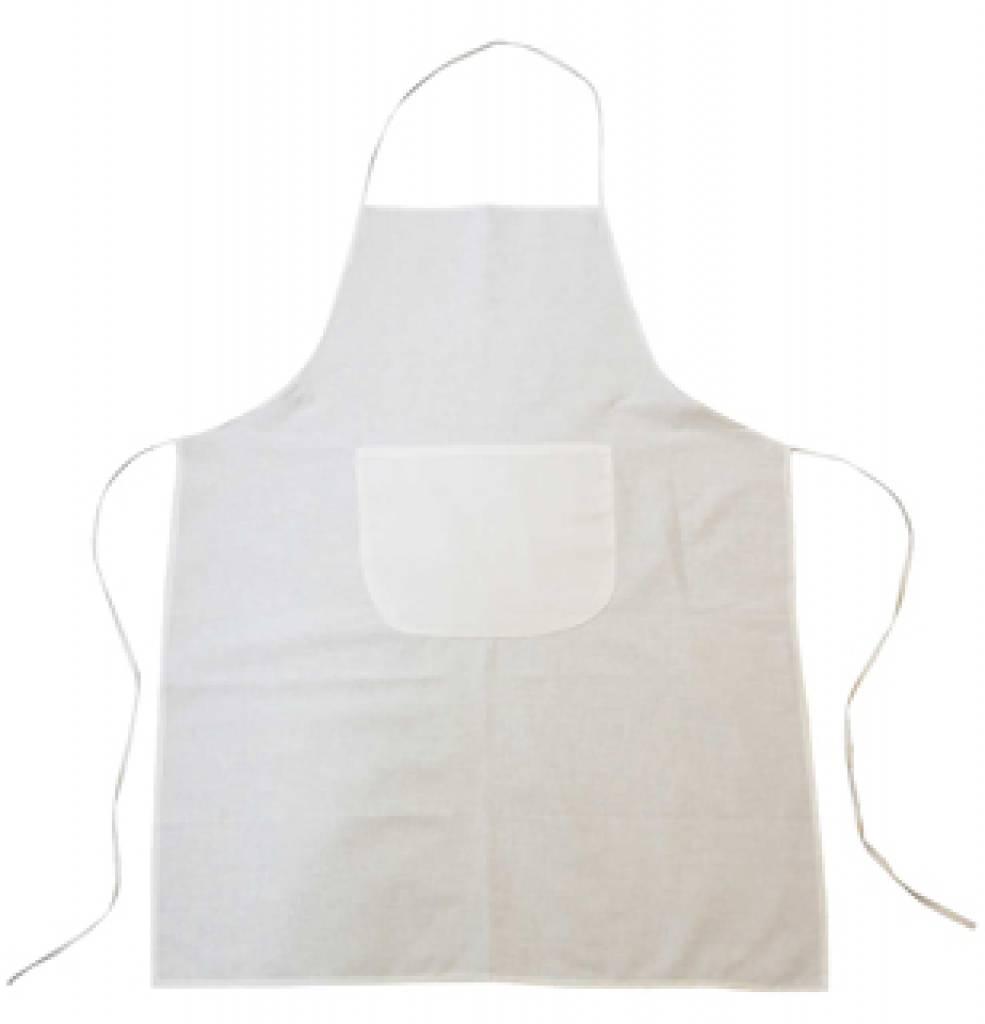 billiga vita förkläden