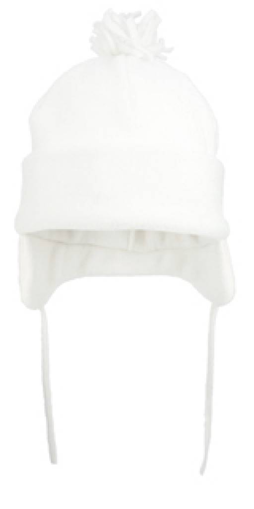 Goedkope witte wintermuts met pluim kopen? Leverbaar in verschillende kleuren!   Kado Idee