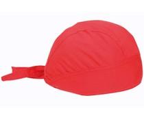 Bandanacaps (bandana's) in de kleur rood (100% katoen)