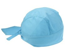 Bandanacaps (bandana's) in de kleur lichtblauw