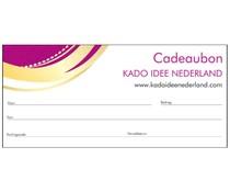 Cadeau idee? Speciale Cadeaubonnen van Kado Idee Nederland bestellen?