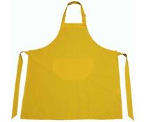 Professionelle gelbe Schürze (Qualität 65% Polyester / 35% Baumwolle, Größe 75 x 85 cm)