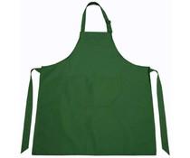 Професионални кухненски престилки в зелено на цвят бутилка (тъмно зелено)