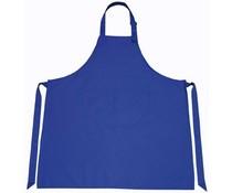 Professionele Keukenschorten in de kleur kobaltblauw (kwaliteit 65% Polyester / 35% Katoen)
