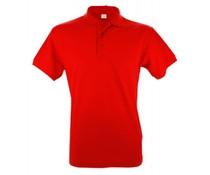 100% Baumwolle Herren Polo rot (Größe S / m 4XL)