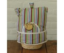 Design Theemuts met Stripe Rainbow design