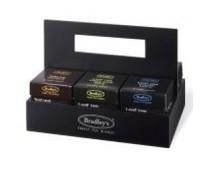 ♣ Bradley's 6-vaks theekist (ongevuld) geschikt voor 6 doosjes Piramide Leaf thee
