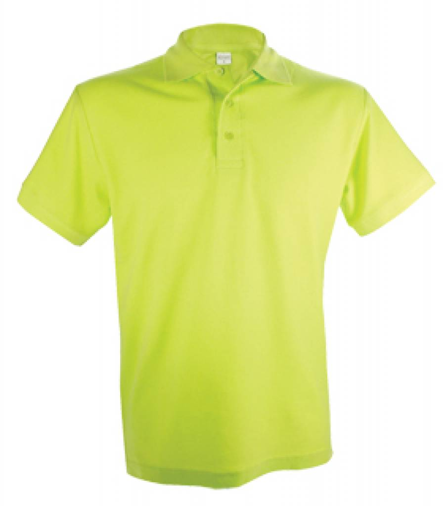 Cheap Buy 100 Cotton Light Green Lemon Men Polo Shirts