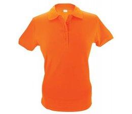Евтини купи 100% памук оранжево дами Polo в размери S / XXL?