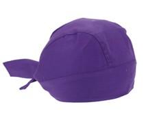 Bandana Caps (Bandanas) in der Farbe lila