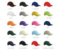 100% brushed katoenen Baseballcaps voor kinderen