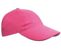 100% gebürstete Baumwolle Baseball Caps für Kinder