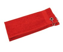 Ница качествени червени вълни кърпички (размер 30 х 55 см)