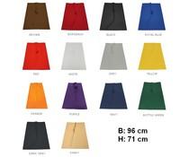 Halflange professionele Kok Sloven (afmeting 96 x 71 cm) in 15 kleuren verkrijgbaar!