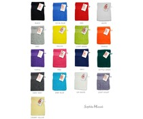 Luxury salviette di spugna marchio Sophie Muval (formato 21 x 16 cm, 450 gr / m2)