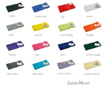 Lussuosi spugna asciugamani ospiti della marca Sophie Muval (disponibile in 17 colori diversi)