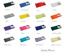 Luxueux serviettes de toilette en éponge de la marque Sophie Muval (disponible en 17 couleurs différentes)