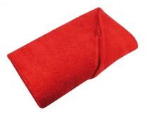 Rode Strandlakens (afmeting 100 x180 cm, gewicht 550 gr/m2)