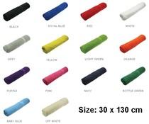 Goedkope badstof Sportsjaals (afmeting 30 x 130 cm, gewicht 380 gr/m2)