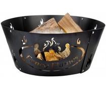 Fire модел пръстен пламък в кутия за подарък пълноцветен