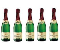 1 Flasche Sekt deutschen Rottkäppchen (weiß Champagner) in einem 1-Fach Wein-Box verpackt