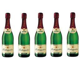 Kaufen Sie 2 Flaschen Sekt Deutsch Rottkäppchen (weiß Champagner) in einem Zwei-Kammer-Wein-Box?