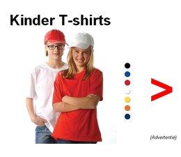 Günstig kaufen Kinder-T-Shirts? Bei uns können Sie billige Kinder T-Shirts gibt es in 7 verschiedenen Farben zu bestellen!