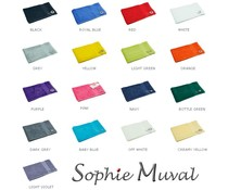 Луксозен хавлиени кърпи вълна на марката Sophie Muval (450 g/m2)