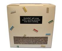 Вашите Кошници с подаръци за опаковане с Sizzlepak? Sizzlepak в бял цвят (011)