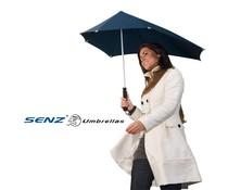 Senz Regenschirm (aerodynamischer Sturm Regenschirm, winddicht bis zu 100 km / h)