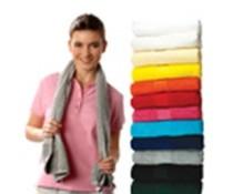 Luksuriøs terry sport tørklæder helt Sophie Muval (450 g/m2)