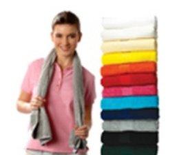 Luxe badstof sportsjaals van het merk Sophie Muval (450 gr/m2)