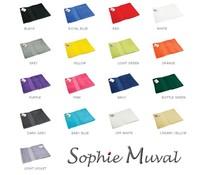 Luxuoso terry esporte lenços marca Sophie Muval (450 g/m2)