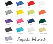 Lyxig frotté sport halsdukar helt Sophie Muval (450 g/m2)