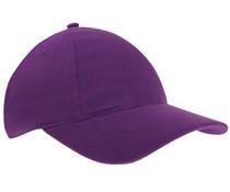 Baseballcaps in de kleur paars voor volwassenen (zeer mooie en goede kwaliteit)
