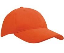 100% katoenen Baseballcaps in de kleur oranje voor volwassenen (zeer mooie en goede kwaliteit)