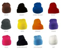 Knitted hats in a nice quality (adult size, 100% acrylic)