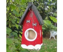 Design Vogelhuizen Kado Idee Nederland collectie 2017 │ Bird Feeder von Hand gefertigt und bemalt!