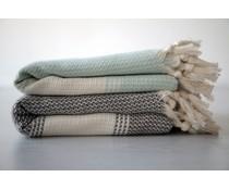 Hammam modische Tücher (Größe 100 x 170 cm) Material 100% Baumwolle