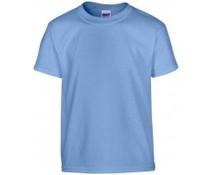 Справедливата търговия тениски в детска и зряла възраст размери (с къси ръкави и обло деколте)