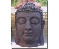 Buddha-Statue Kopf (geeignet für innen und außen)