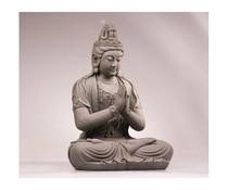 Boeddhabeeld Kwan Yin (zittend en mediterend)