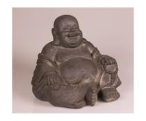 Boeddhabeeld Happy Dikbuik
