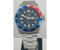 Madison Quartz heren horloge met edelstalen kast (1 jaar garantie op het uurwerk)