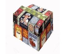 Красиви коледни кутии (в цвета и размера, който се изисква)