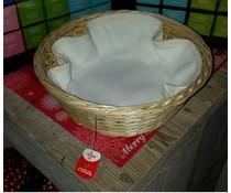 Wicker кошница за чайник (включително съвпадение инкрустация)