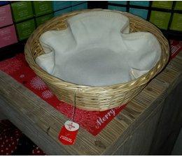 Weidenkorb für Tee gemütlich (einschließlich zusammenpassende Einlage)