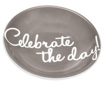 "Servies ""Celebrate the day!"" Tea Sneak ""Celebrate the Day"" Taupe"
