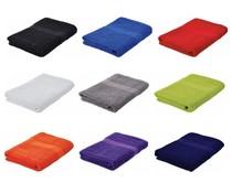Goedkope baddoeken (70 x 140 cm) merk Sophie Muval (kwaliteit badstof, 100% katoen, gewicht 360 gr/m2)